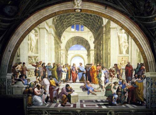 Skola i Antikens Aten